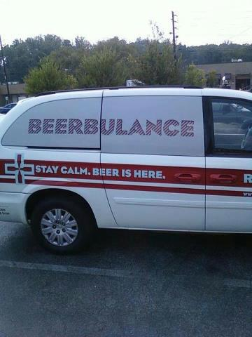 Stay Calm. Beer Is Here.
