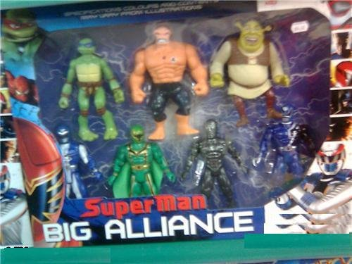 Superman Big Alliance