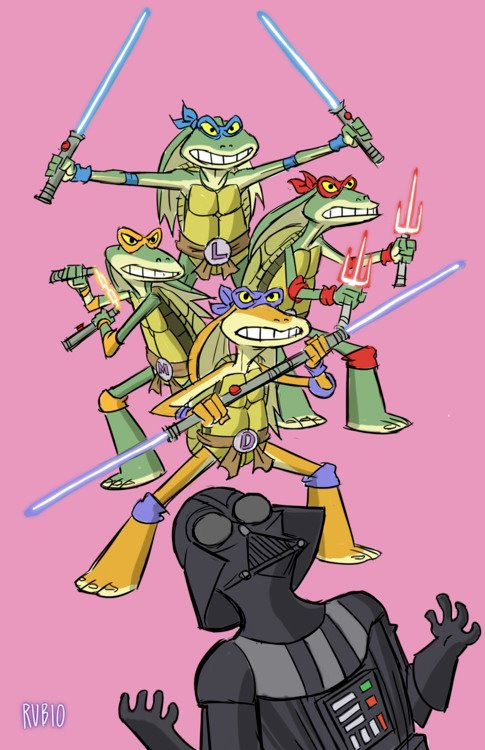 Teenage Mutant Ninja Ja-Ja Binks