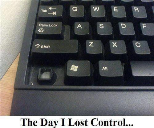 The Day I Lost Control