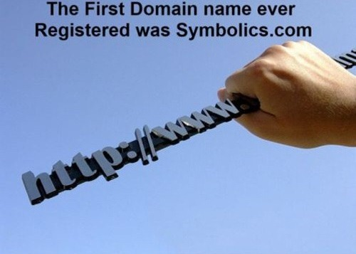 The First Domain Name Ever Registered