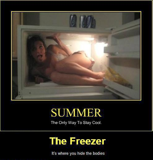 The Freezer Its Where You Hide The Bodies