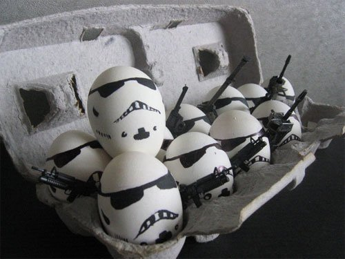 These are not the eggs you was looking for
