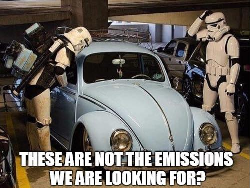 These are not the emissions we are looking for