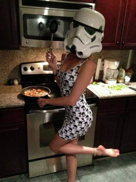 This is how Stromtroopers cook
