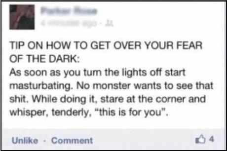 Tip On How To Get Over Your Fear Of The Dark