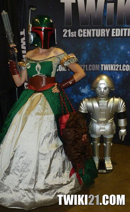 Twiki with Boba Fett