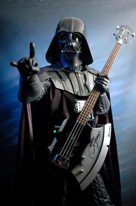 Vader With Simmon's Guitar