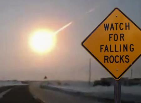 Watch out for falling rocks