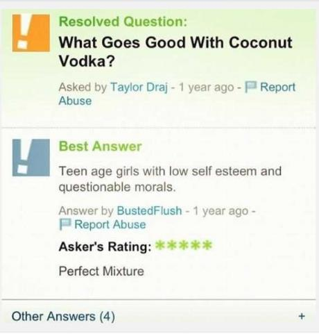 What Goes Good With Coconut Vodka