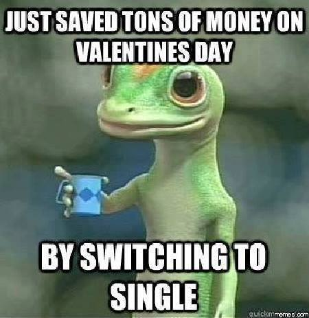 You can save money on Valentines day