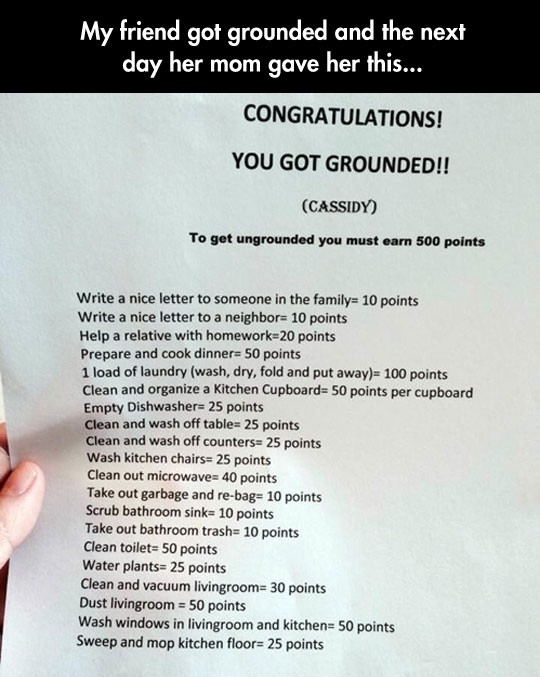 You got Grounded