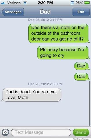 You're next love Moth.