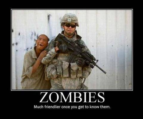 Zombies much friendlier once you get to know them