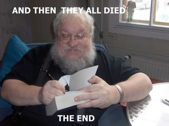 And then they all died the End