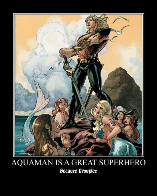 Aquaman is a great Superhero
