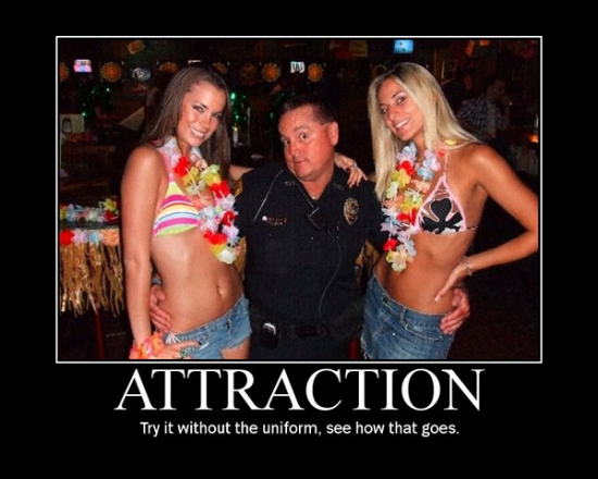 Attraction now try it without the uniform2