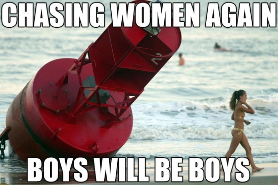 Buoys will be Buoys