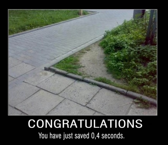 Congratulations you just saved2