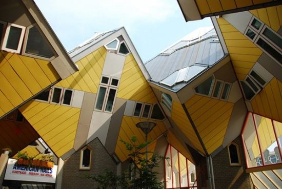 Cubic Houses Rotterdam Netherlands