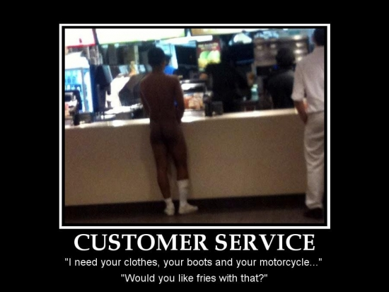Customer service I need your clothes2