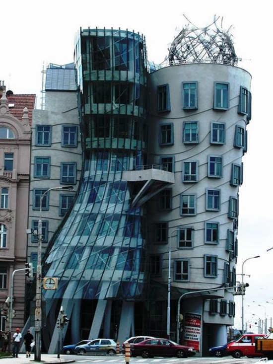 Dancing Building Prague Czech Republic