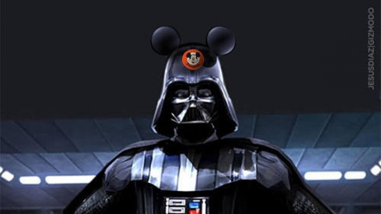 Darth Vader with Mickey Hat