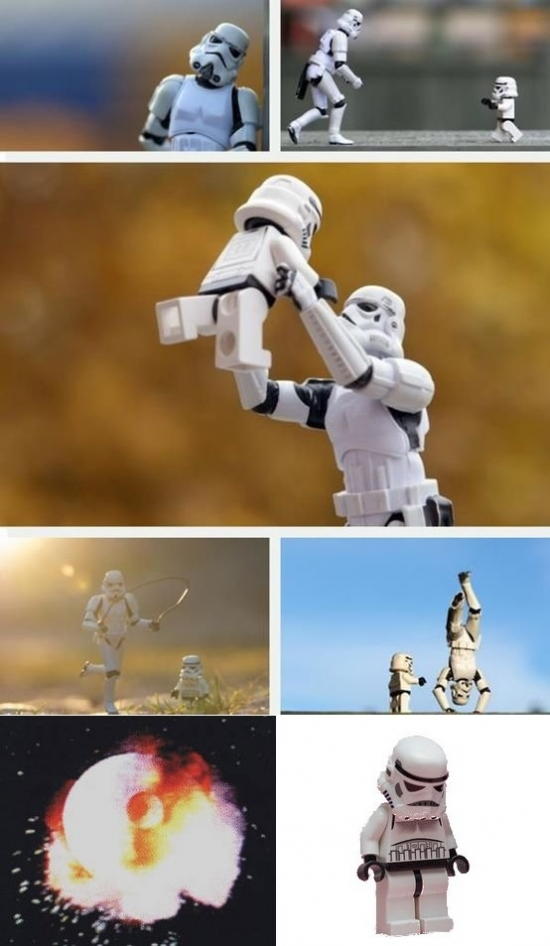 Even Stormtroopers have kids