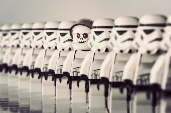 Even the Lego Stormtroopers