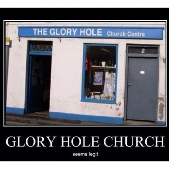 Glory hole church