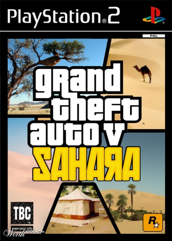 Grand Theft Audo V Sahara