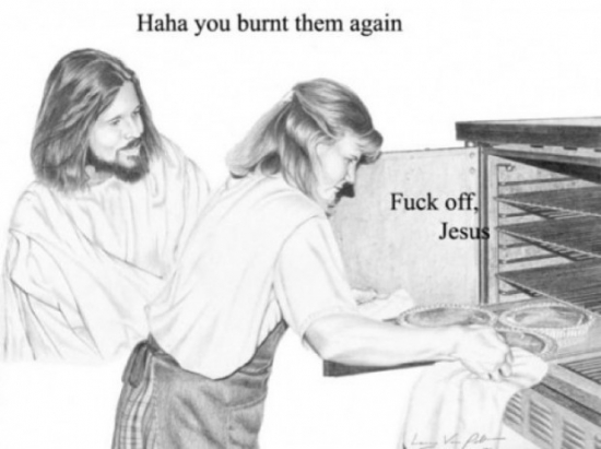 Haha you burnt them again