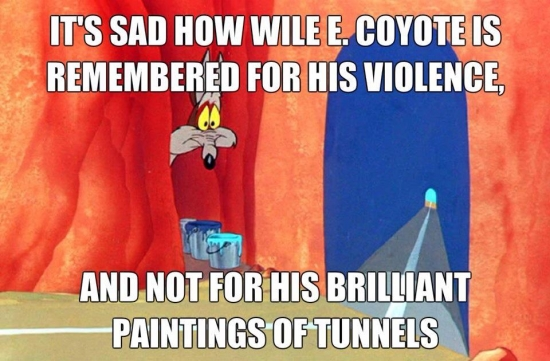 He was a brilliant painter