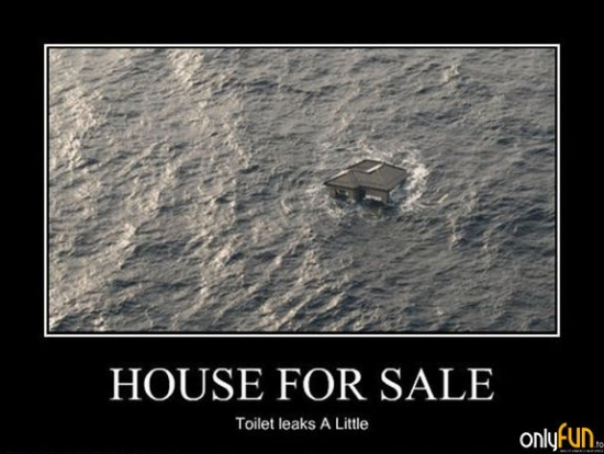 House for sale Small leak