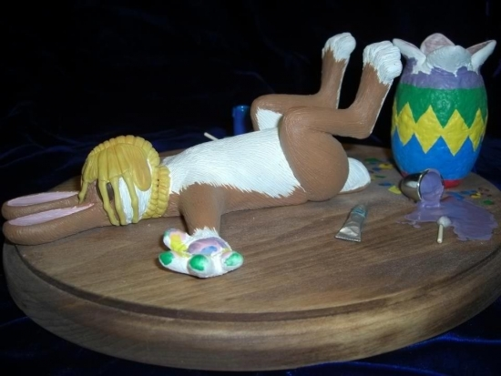 How the Easter Bunny died