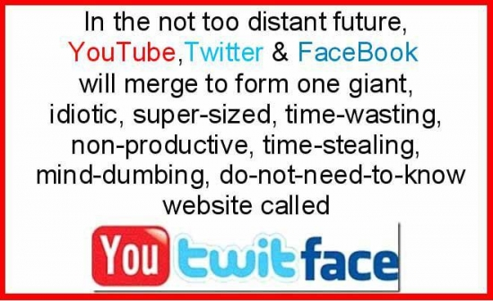 If YouTube Twitter and Facebook Merge