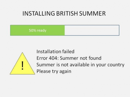 Installing British Summer Time