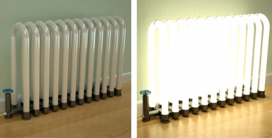 Light up radiator