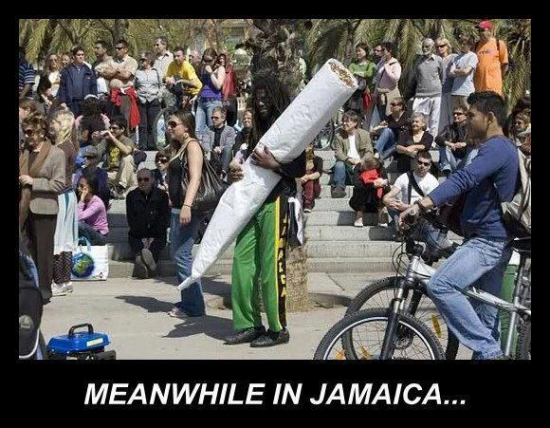 Meanwhile in Jamaica