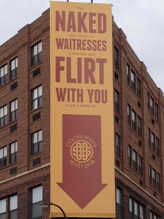 Naked Waitresses Firlt With You