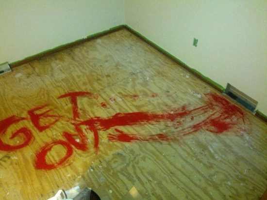 Next time you take your carpets up leave this for the next people who replace the carpets