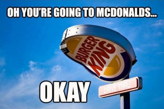 Oh Youre Going To McDonalds