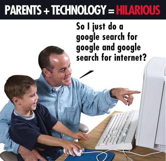 Parents and Technology Hilarious