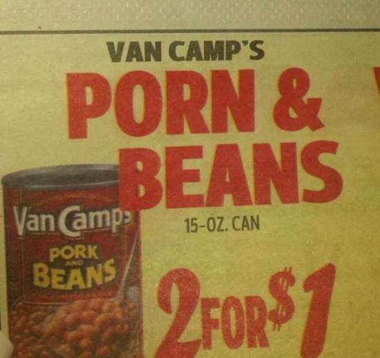 Porn and Beans