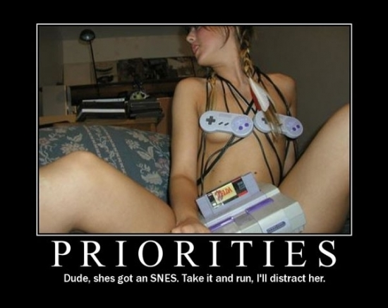 Priorities Dude I will distract her2