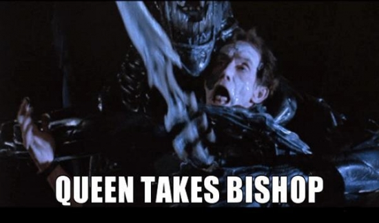 Queen Takes Bishop