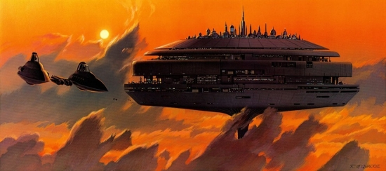 Ralph McQuarrie Another Cloud City