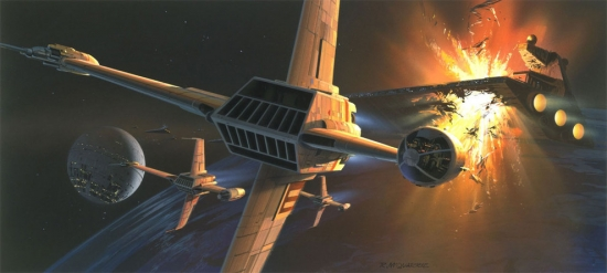 Ralph McQuarrie B Wing Fighter