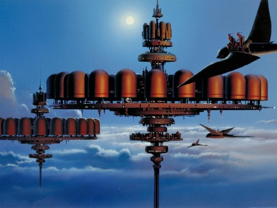 Ralph McQuarrie Cloud City