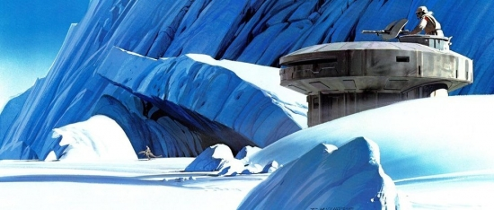 Ralph McQuarrie Echo Base Entrance